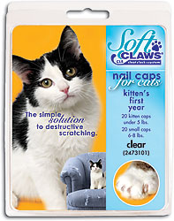 You're viewing: Soft Claws Feline Nail Caps $10.98